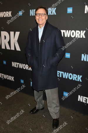 """Bob Costas attends the opening night of """"Network"""" at the Belasco Theatre, in New York"""