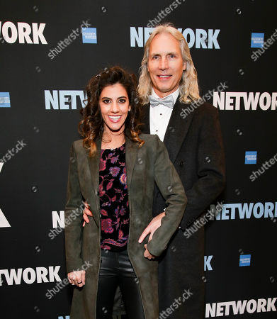 Editorial picture of 'Network' play opening night, New York, USA - 06 Dec 2018