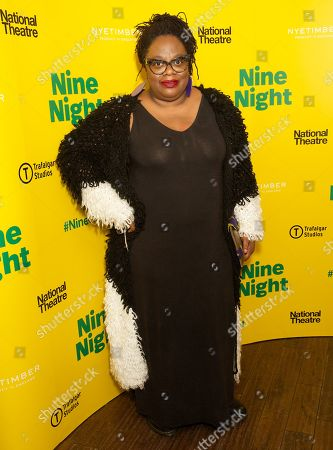 Editorial picture of 'Nine Night' play opening night, After Party, Trafalgar Studios, London, UK - 06 Dec 2018