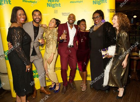 Michelle Greenidge, Karl Collins, Rebekah Murrell, Oliver Alvin-Wilson, Natasha Gordon, Cecilia Noble & Hattie Ladbury
