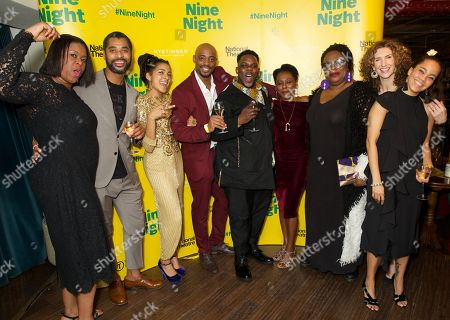 Stock Image of Michelle Greenidge, Karl Collins, Rebekah Murrell, Oliver Alvin-Wilson, Natasha Gordon, Cecilia Noble & Hattie Ladbury