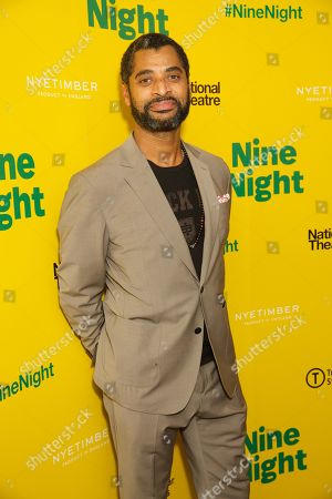 Editorial image of 'Nine Night' play opening night, After Party, Trafalgar Studios, London, UK - 06 Dec 2018
