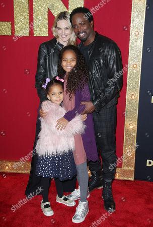 Harold Perrineau and family