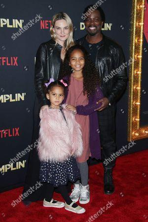 Brittany Perrineau, Harold Perrineau and family