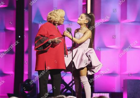 Patti LaBelle and Ariana Grande