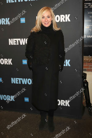 "Judy McLane attends the opening night of ""Network"" at the Belasco Theatre, in New York"
