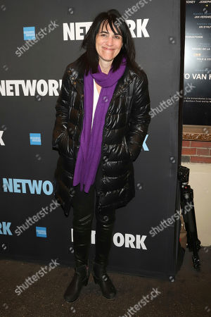 "Leigh Silverman attends the opening night of ""Network"" at the Belasco Theatre, in New York"