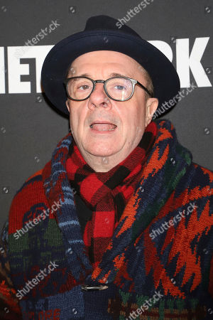 """Nathan Lane attends the opening night of """"Network"""" at the Belasco Theatre, in New York"""