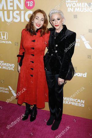 Stock Image of Regina Spektor and Marsha Vlasic