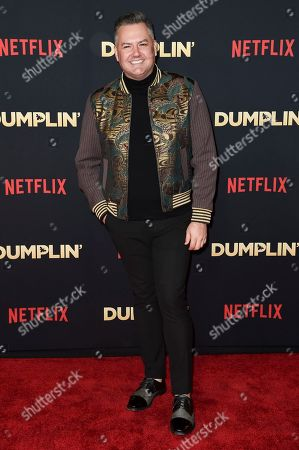 """Stock Photo of Ross Matthews attends the world premiere of """"Dumplin'"""" at TCL Chinese Theatre, in Los Angeles"""