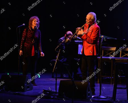 Stock Picture of Lani Hall and Herb Alpert