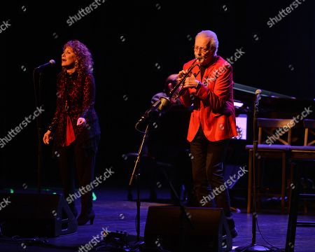 Editorial photo of Herb Alpert and Lani Hall in concert at The Parker Playhouse, Fort Lauderdale, USA - 06 Dec 2018