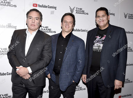 Shawn Layden, Phil Spencer, Reggie Fils-Aime