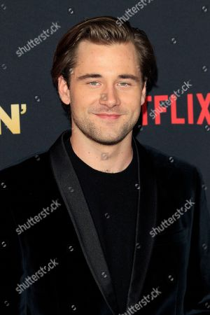 Luke Benward arrives for the world premiere of the film Dumplin' at the TCL Chinese 6 Theaters in Hollywood, California, USA, 06 December 2018. The movie opens on Netflix and in select theaters 07 December 2018.