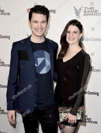 Stock Photo of Bryan Dechart, Amelia Rose Blaire