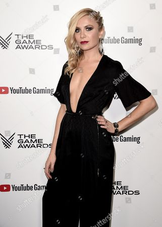 Editorial photo of The Game Awards, Arrivals, Los Angeles, USA - 06 Dec 2018