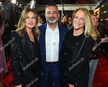 Kristin Hahn, Producer Mohamed AlRafi of 50 Degrees Entertainment, Anne Fletcher