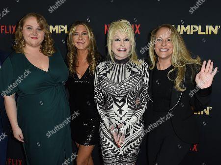 Danielle Macdonald, Jennifer Aniston, Dolly Parton, Anne Fletcher