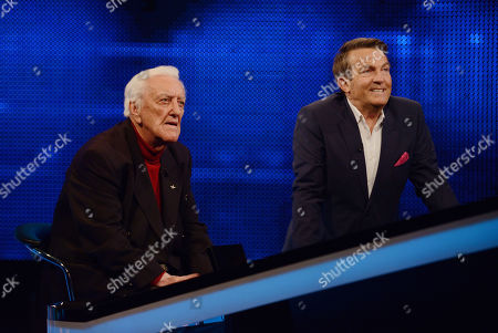 Bernard Cribbins and Bradley Walsh