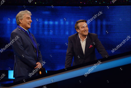 Stock Photo of John Inverdale and Bradley Walsh