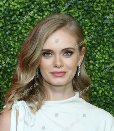 Sara Paxton arrives at the 2018 GQ's Men of the Year Celebration, in Beverly Hills, Calif
