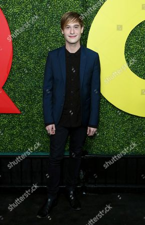 Tyler Henry arrives at the 2018 GQ's Men of the Year Celebration, in Beverly Hills, Calif