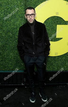 Alessandro Sartori arrives at the 2018 GQ's Men of the Year Celebration, in Beverly Hills, Calif