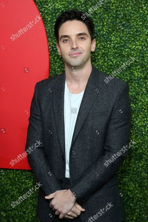 Paul W. Downs arrives at the 2018 GQ's Men of the Year Celebration, in Beverly Hills, Calif