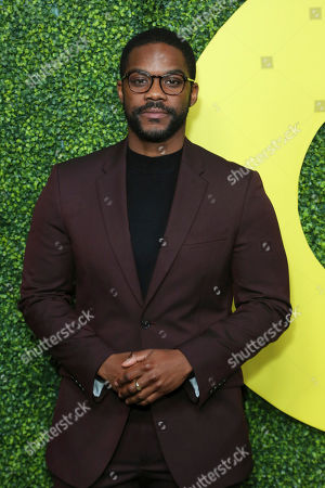 Jovan Adepo arrives at the 2018 GQ's Men of the Year Celebration, in Beverly Hills, Calif