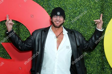 Ralph Rieckermann arrives at the 2018 GQ's Men of the Year Celebration, in Beverly Hills, Calif
