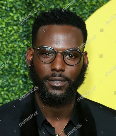 Kofi Siriboe arrives at the 2018 GQ's Men of the Year Celebration, in Beverly Hills, Calif