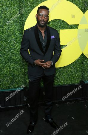 Stock Image of Kofi Siriboe arrives at the 2018 GQ's Men of the Year Celebration, in Beverly Hills, Calif