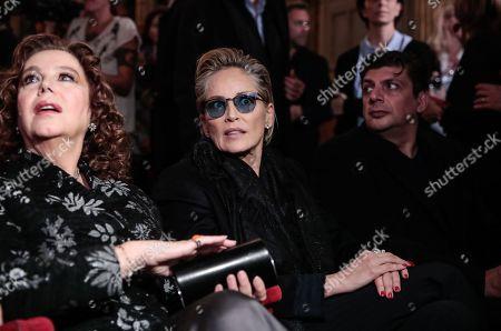 Stefania Sandrelli, Sharon Stone attend at the evening in memory of Bernardo Bertolucci
