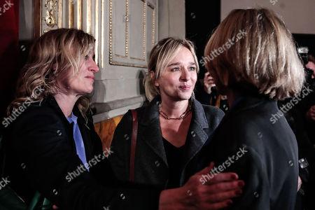 Valeria Golino, Valeria Bruni Tedeschi, Clare Peploe, attend at the evening in memory of Bernardo Bertolucci