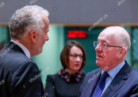 Editorial image of Justice and Home Affairs Council, Brussels, Belgium - 07 Dec 2018