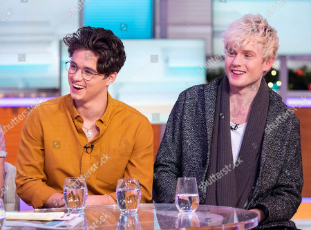 The Vamps - Brad Simpson and Tristan Evans