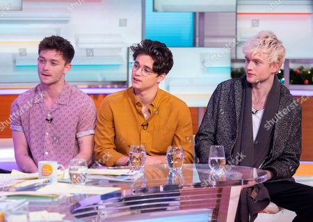 The Vamps - Connor Ball, Brad Simpson and Tristan Evans