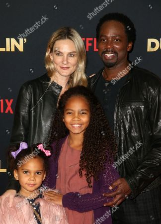 Brittany Perrineau, Harold Perrineau, Wynter Perrineau, Holiday Perrineau
