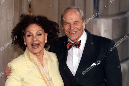 Sir John Dankworth (kb 1/2006) And Wife Dame Cleo Laine At A Mansion House Lunch To Celebrate The Achievements Of 300 Britons Sir Johnny Dankworth