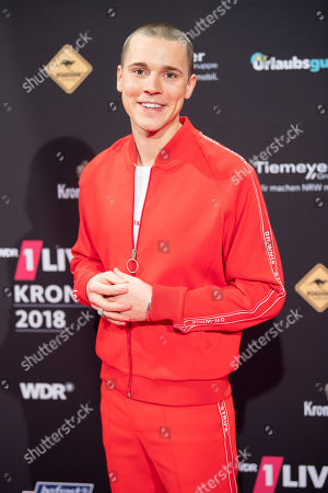 Editorial photo of 1Live Krone Radio Awards, Bochum, Germany - 06 Dec 2018