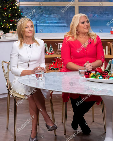 Stock Picture of Dr. Wednesday Martin and Vanessa Feltz