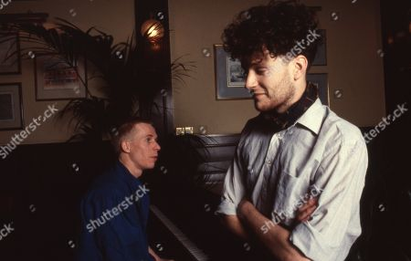 Stock Image of Blancmange - Stephen Luscombe (keyboards) and Neil Arthur (vocals).