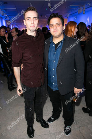 Stock Image of Jamie Muscato and Nathan Amzi