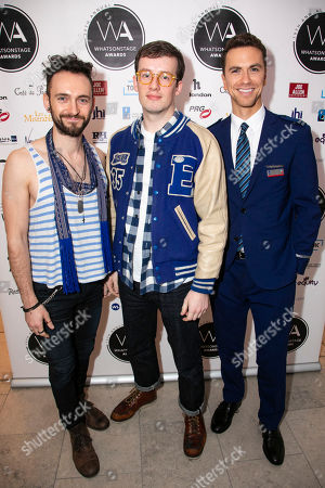 Editorial photo of '2019 WhatsOnStage Awards', Nominees Reception, London, UK - 07 Dec 2018