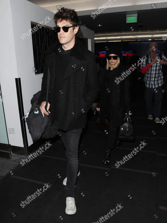 Editorial picture of Christopher French and Ashley Tisdale at LAX International Airport, Los Angeles, USA - 06 Dec 2018