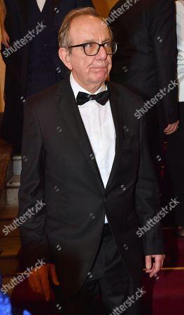Former Italian Minister of Economy Pier Carlo Padoan attends La Scala opera house's gala season opener, Giuseppe Verdi's opera 'Attila,' at the Teatro alla Scala in Milan, Italy, 07 December 2018.