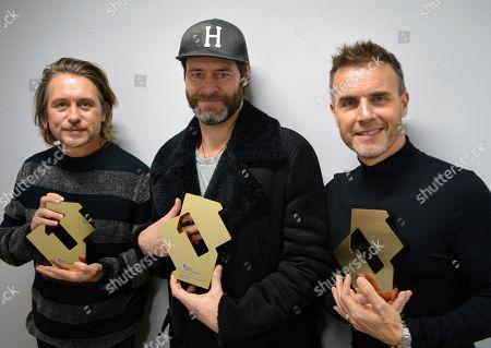 Take That - Gary Barlow, Mark Owen, Howard Donald