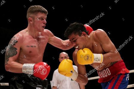 Dylan Moran vs Nelson Altamirano. Dylan Moran and Nelson Altamirano