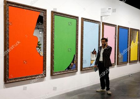 Editorial image of Art Basel Miami, USA - 07 Dec 2018