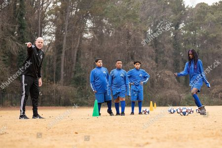 Ahead of the MLS Cup, MLS coach Brad Friedel leads students from Jean Childs Young Middle School in drills during a clinic hosted by Allstate on Friday, December 7, 2018 in Atlanta. Allstate, a longtime supporter of the soccer community, is the Official Insurance Partner of Major League Soccer (MLS